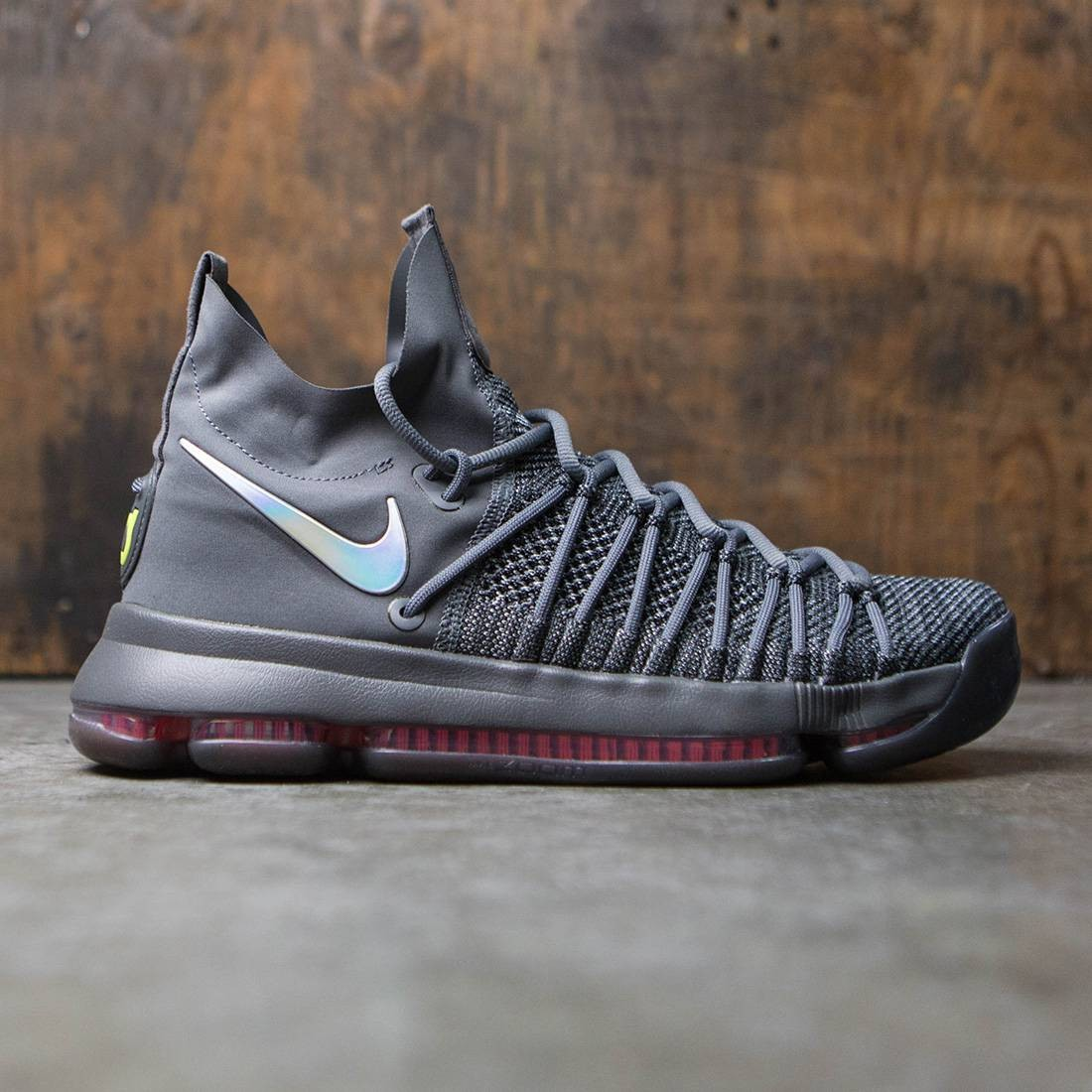 eeb8a91d1691 nike men zoom kd9 elite ts gray dark grey sail hyper jade