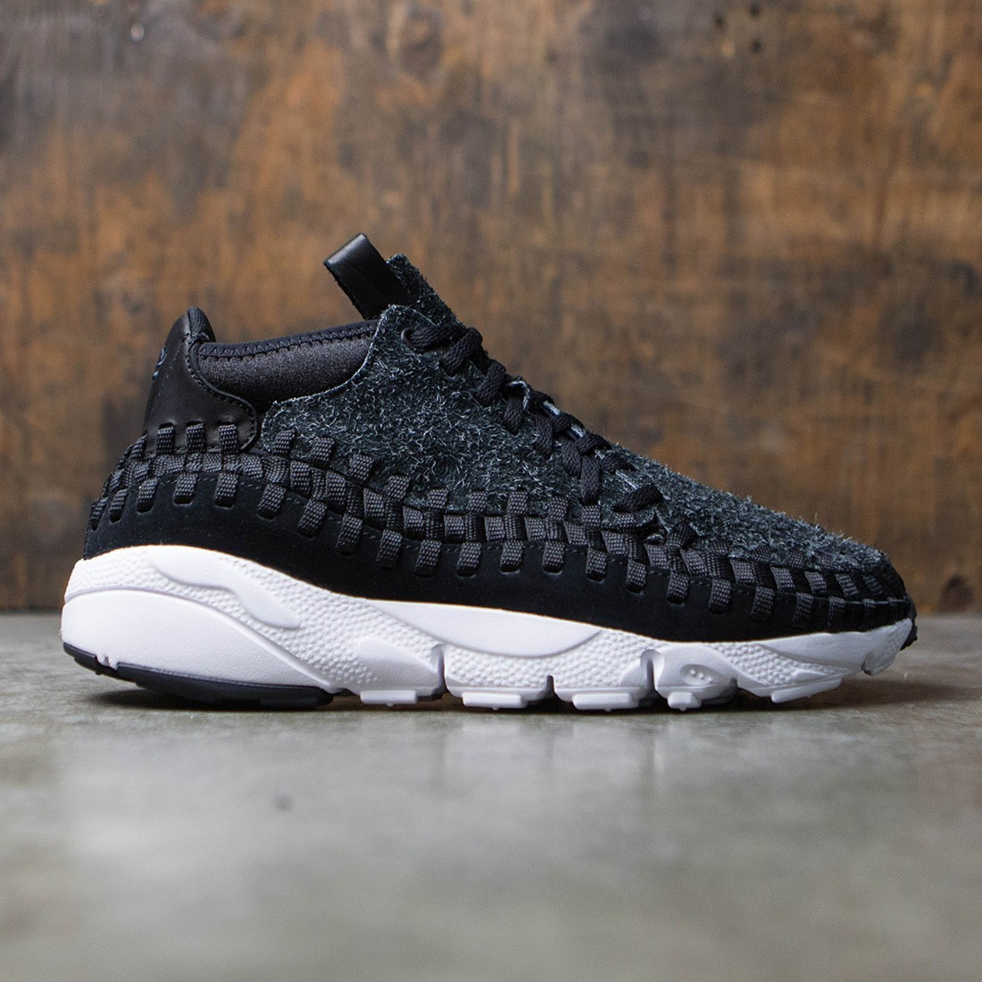 b97fa03208b nike men air footscape woven chukka qs gray anthracite black white