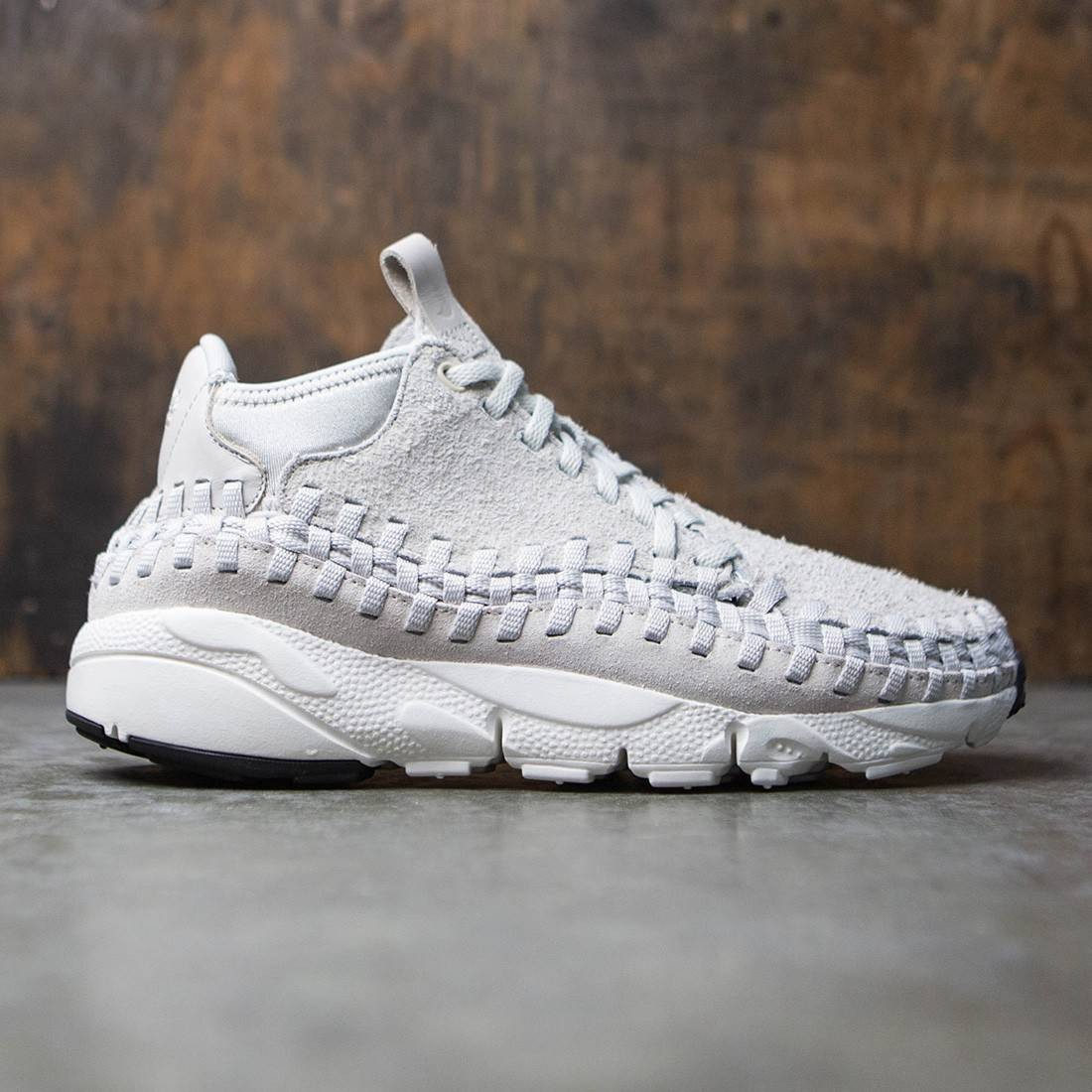 nike men air footscape woven chukka qs gray light bone light bone summit  white 6c5166ceb105