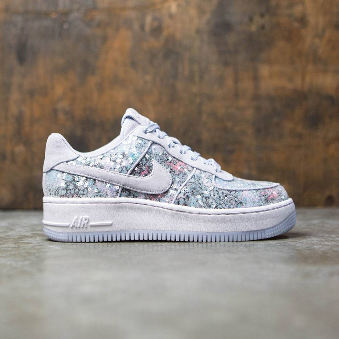 buy popular 8912c 61fa9 Nike Women Air Force 1 Af1 Upstep 35 (purple / palest purple-white)