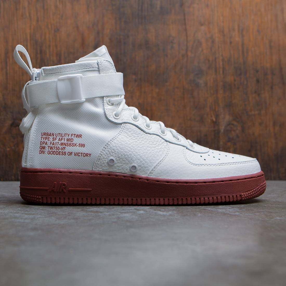 Repetido Falsificación Portero  nike men sf air force 1 mid ivory ivory mars stone