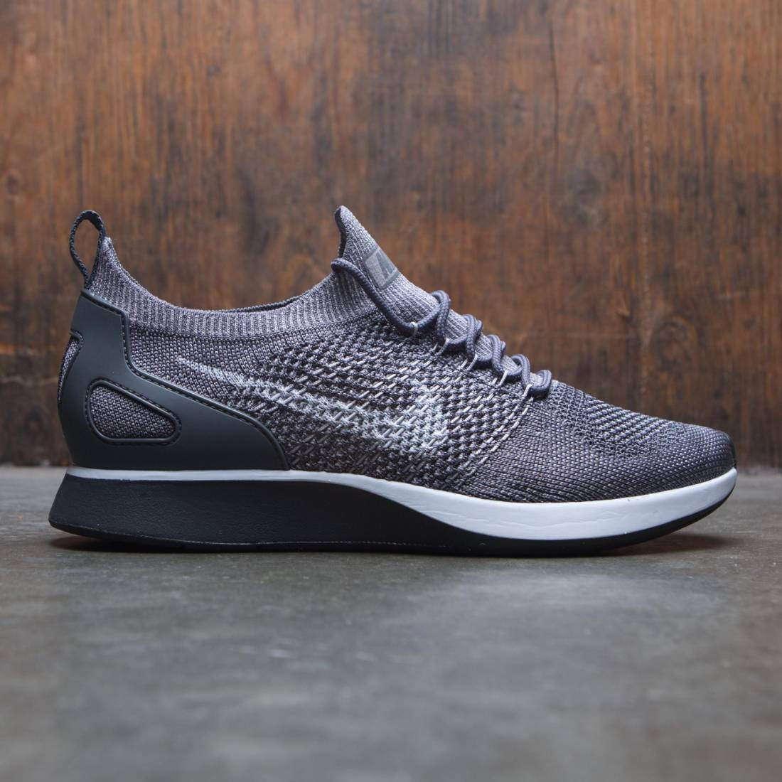 buy online 3a5e8 076c7 nike men air zoom mariah flyknit racer gray gunsmoke atmosphere grey dark  grey white