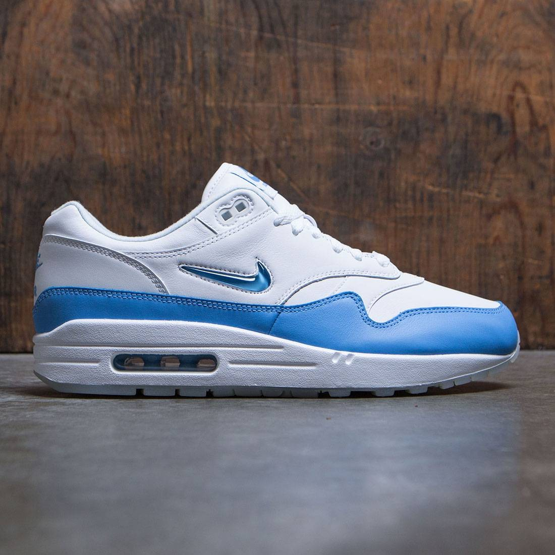 the latest 0f9bf bfc9b nike men air max 1 premium sc white blue