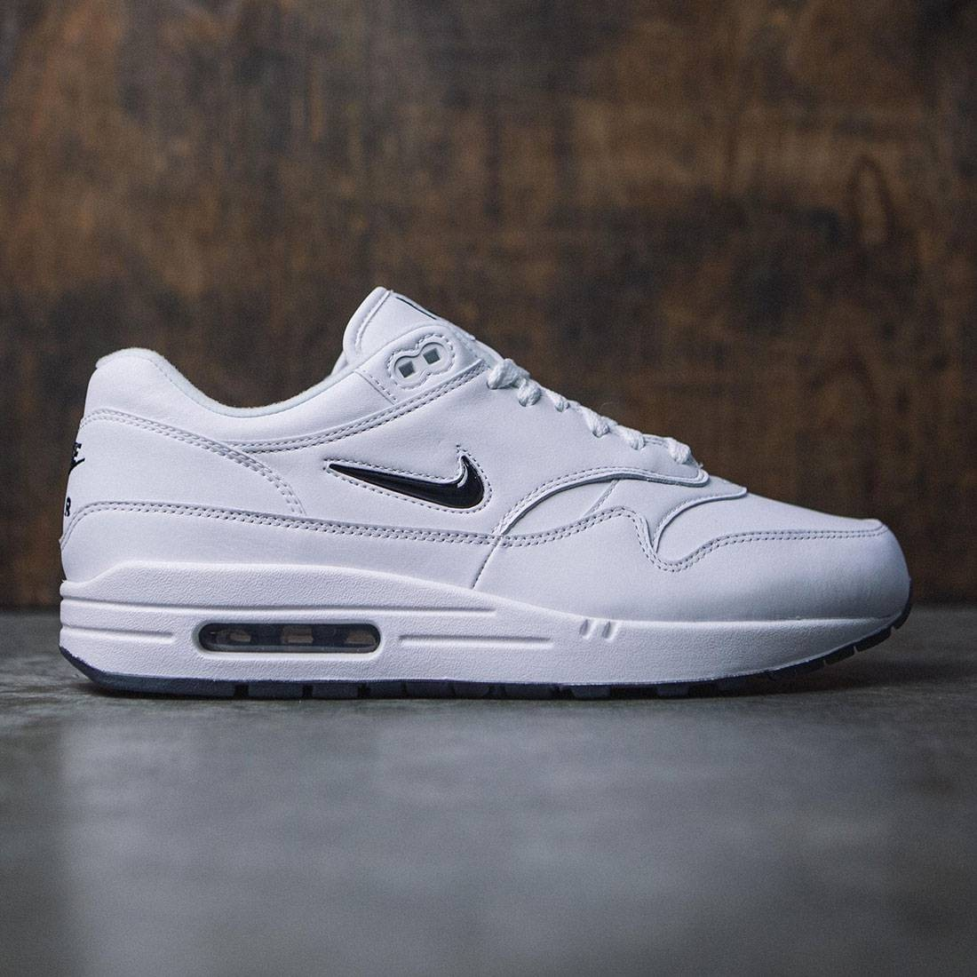 White Nike Jewel 1 Premium Sc Black Air Max Crown 35Rjq4AL