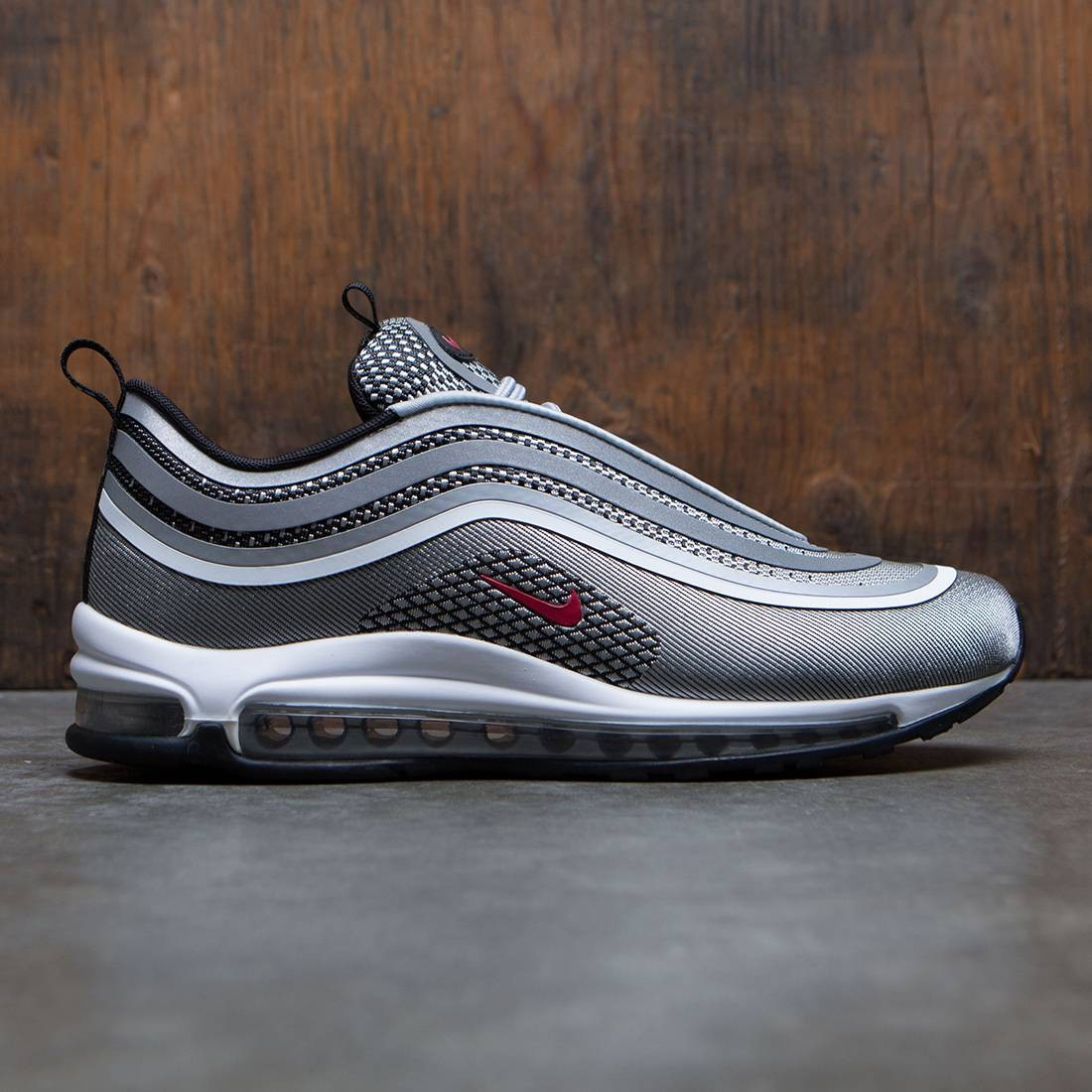 Nike Men Air Max 97 Ul '17 (metallic silver / varsity red-black-white)