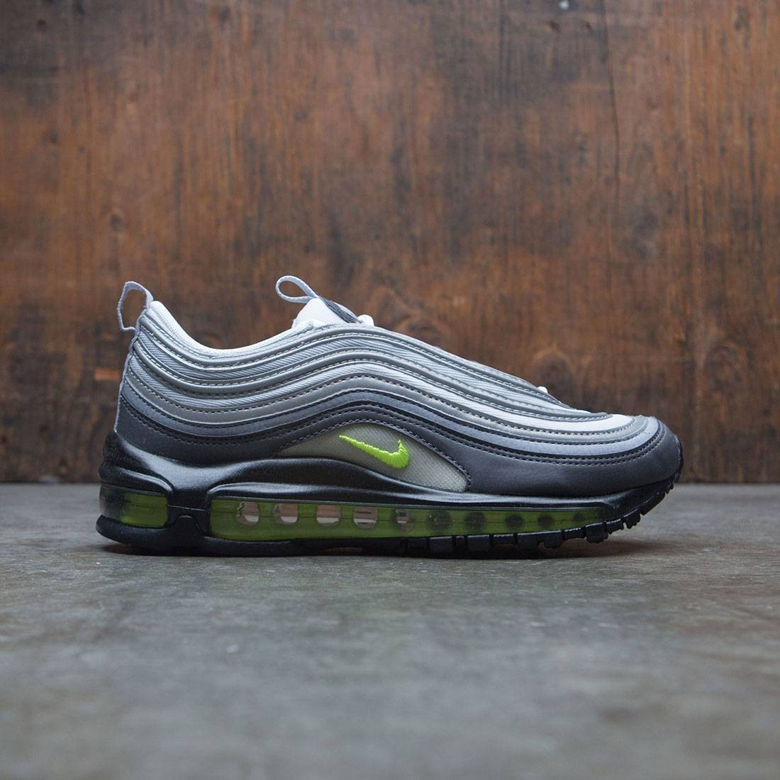 3d158f24687b50 nike women air max 97 dark grey volt stealth pure platinum