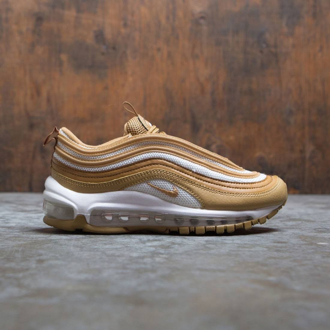 Nike Women Air Max 97 Wheat Wheat Club Gold Club Gold