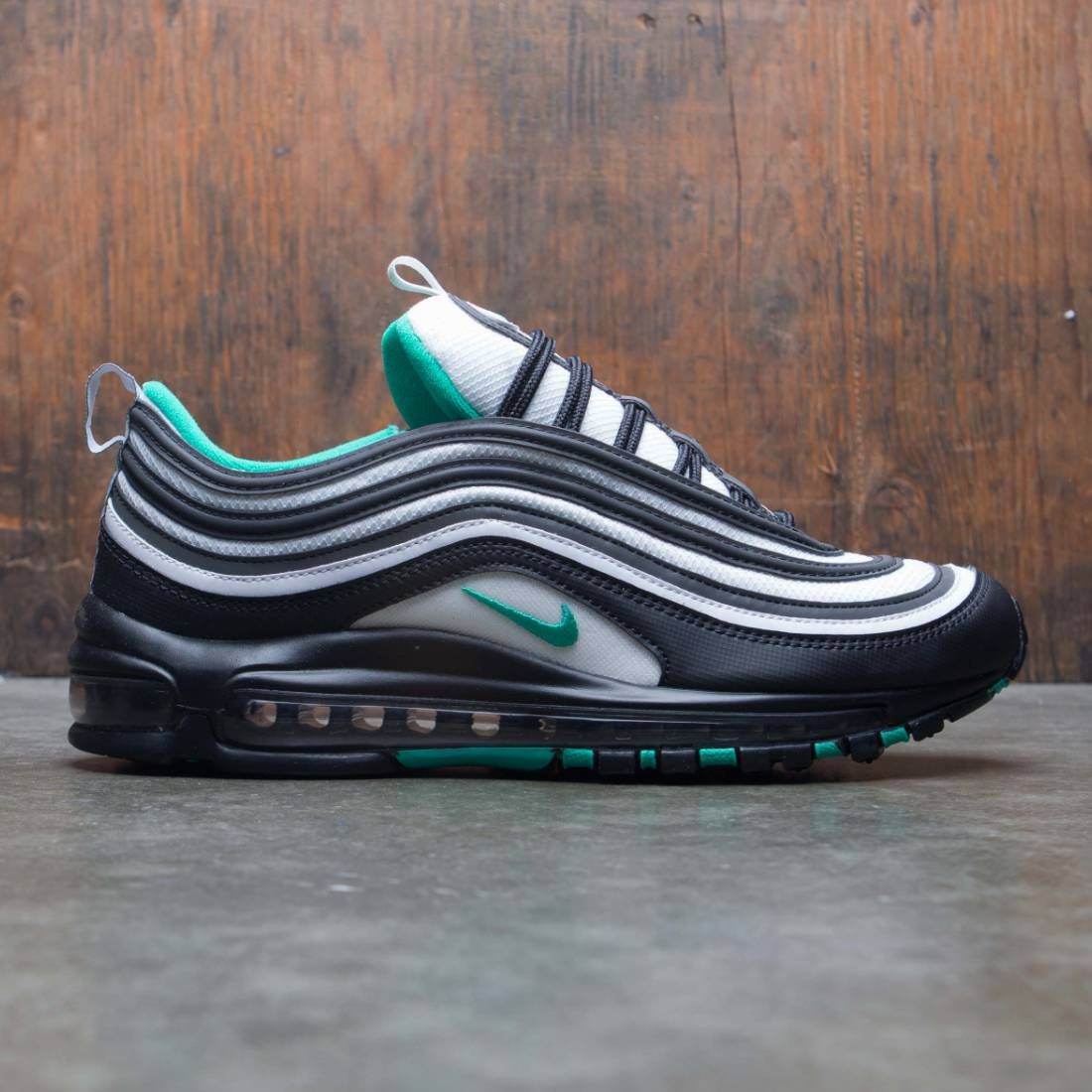 52479be66c nike men air max 97 black clear emerald white