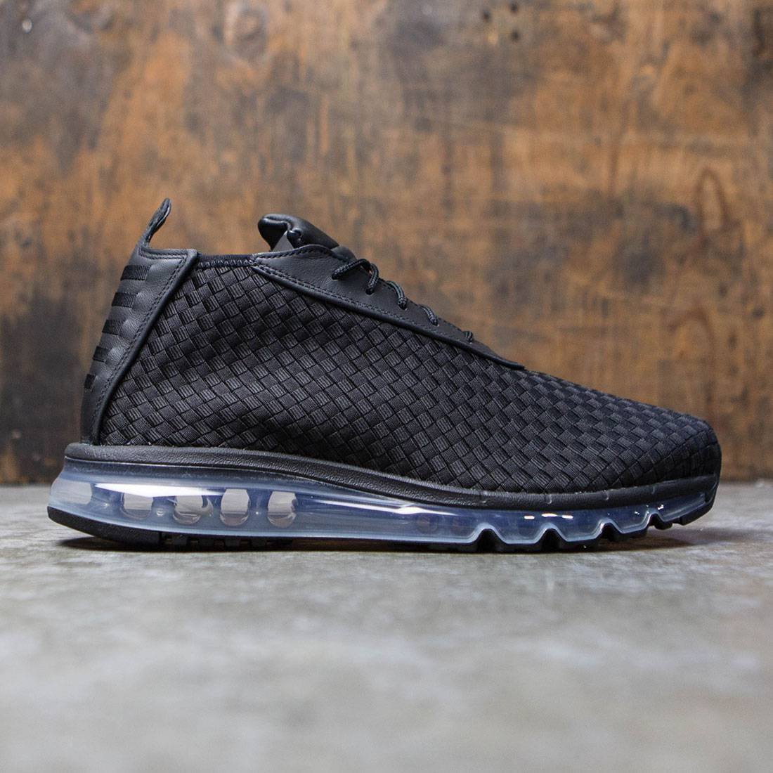 timeless design dc850 a5447 nike men air max woven boot black black