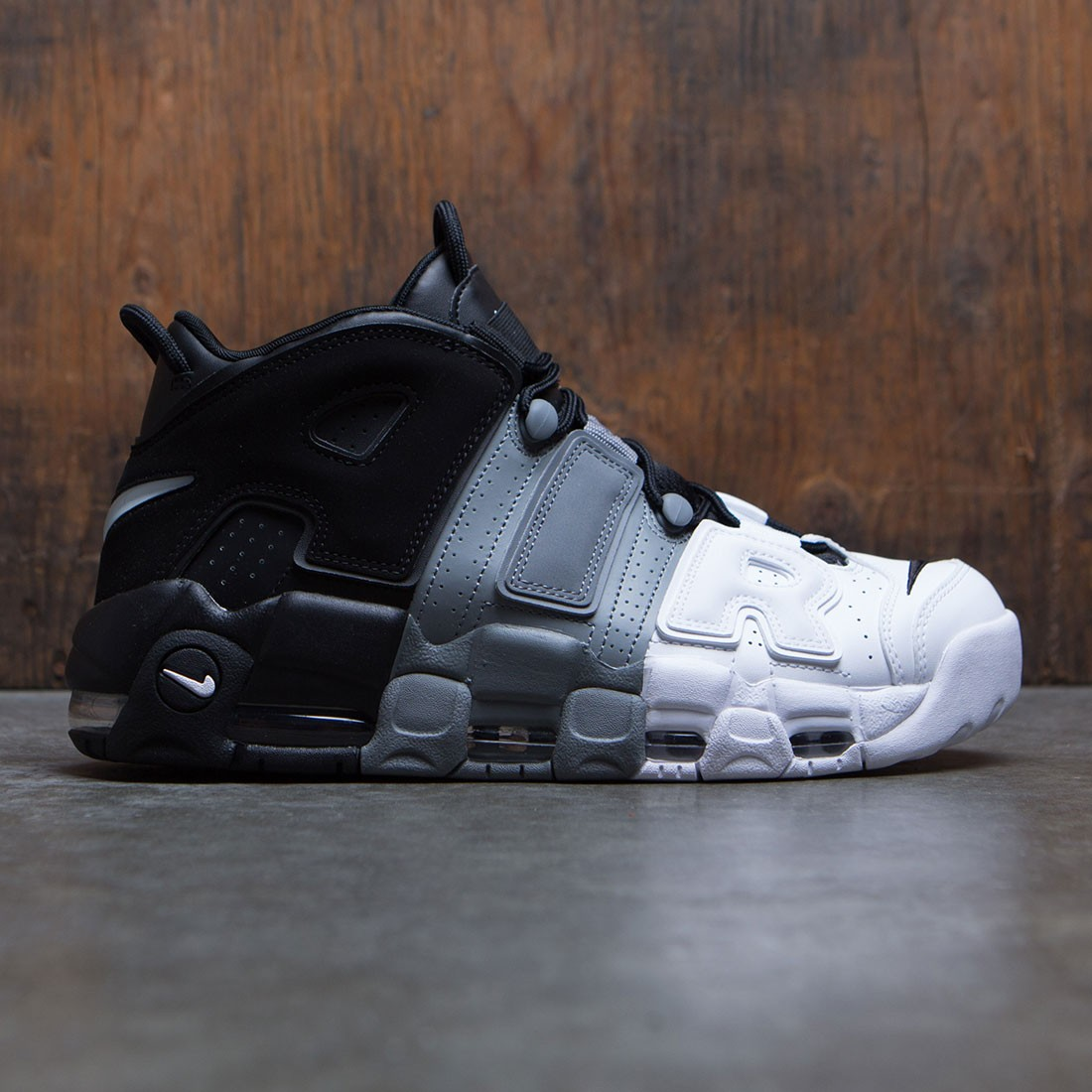 adc4cc0925 nike men air more uptempo '96 black black cool grey white