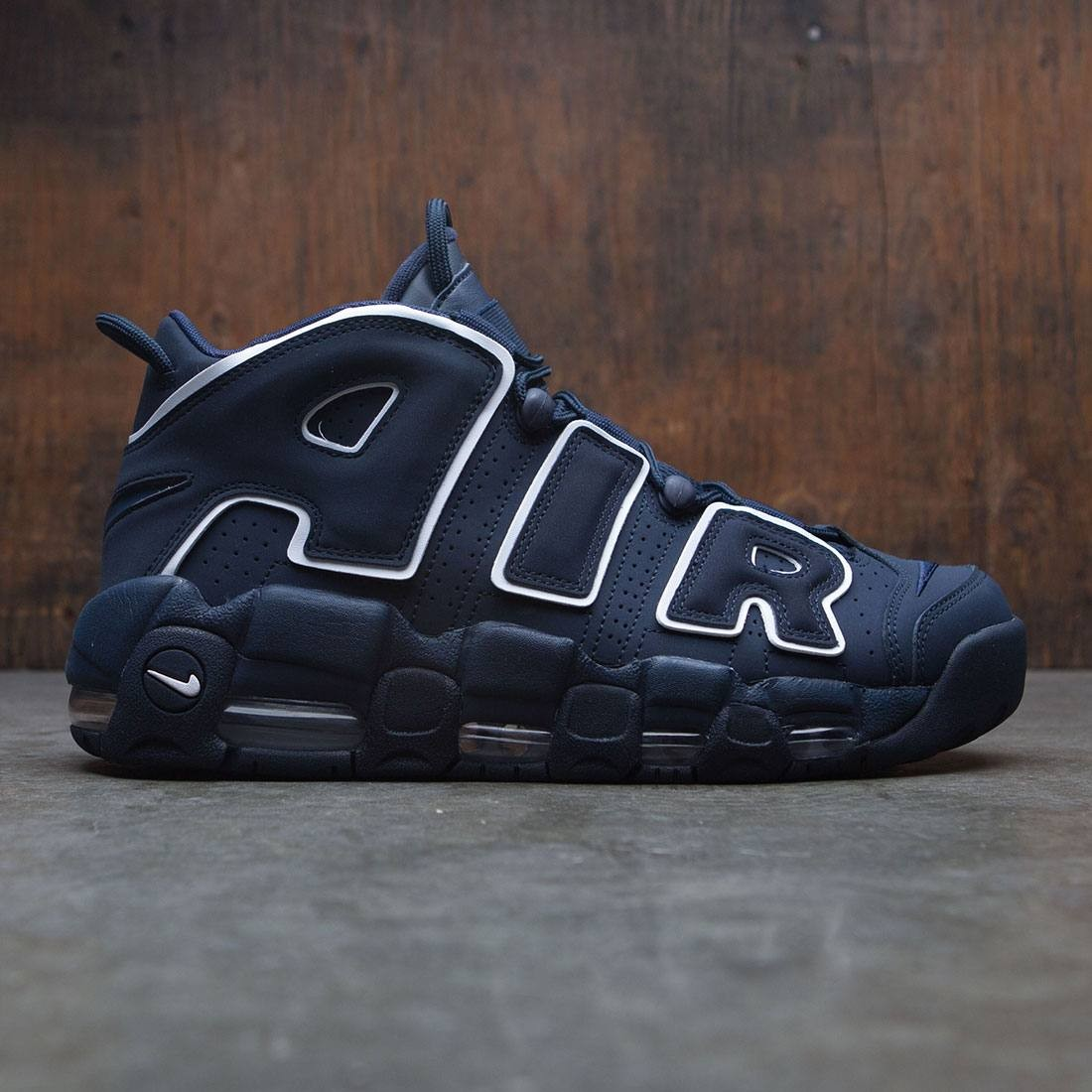 huge discount b3a73 3746f nike men air more uptempo 96 obsidian obsidian white