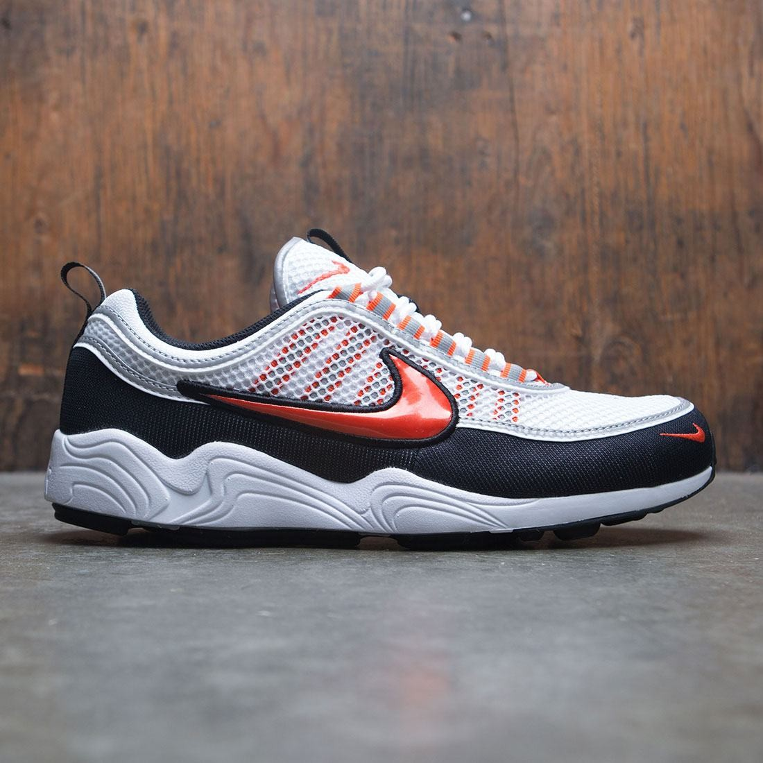 Nike Men Air Zoom Spiridon '16 (white / team orange-black-metallic silver)