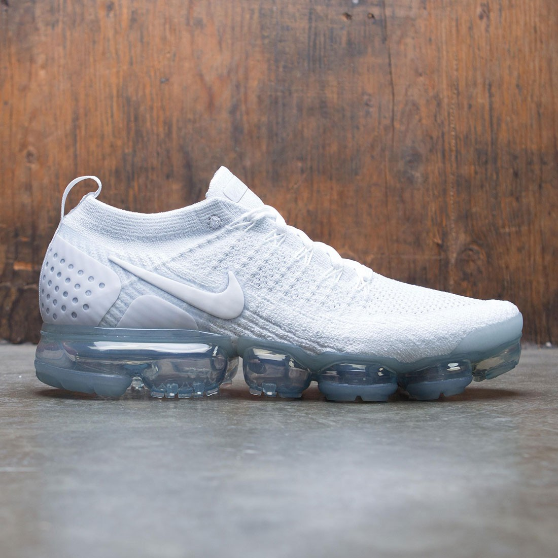 cheaper acf60 d263e nike men air vapormax flyknit 2 white white pure platinum