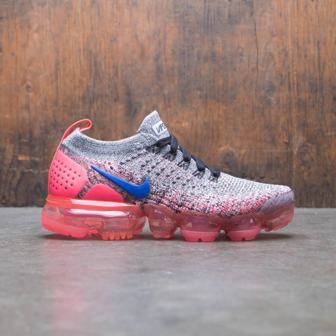 2f0acaea31e ... where to buy nike women air vapormax flyknit 2 white ultramarine hot  punch black 2a240 8eac6