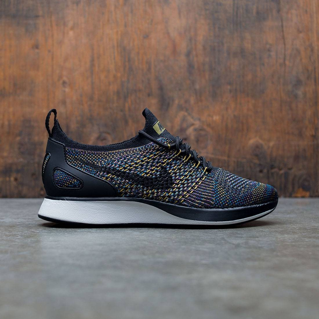 official photos 29d53 45ead nike women air zoom mariah flyknit racer black black summit white desert  moss