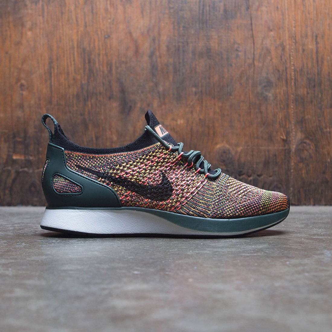 quality design 27a9d 61f19 nike women air zoom mariah flyknit racer vintage green black summit white