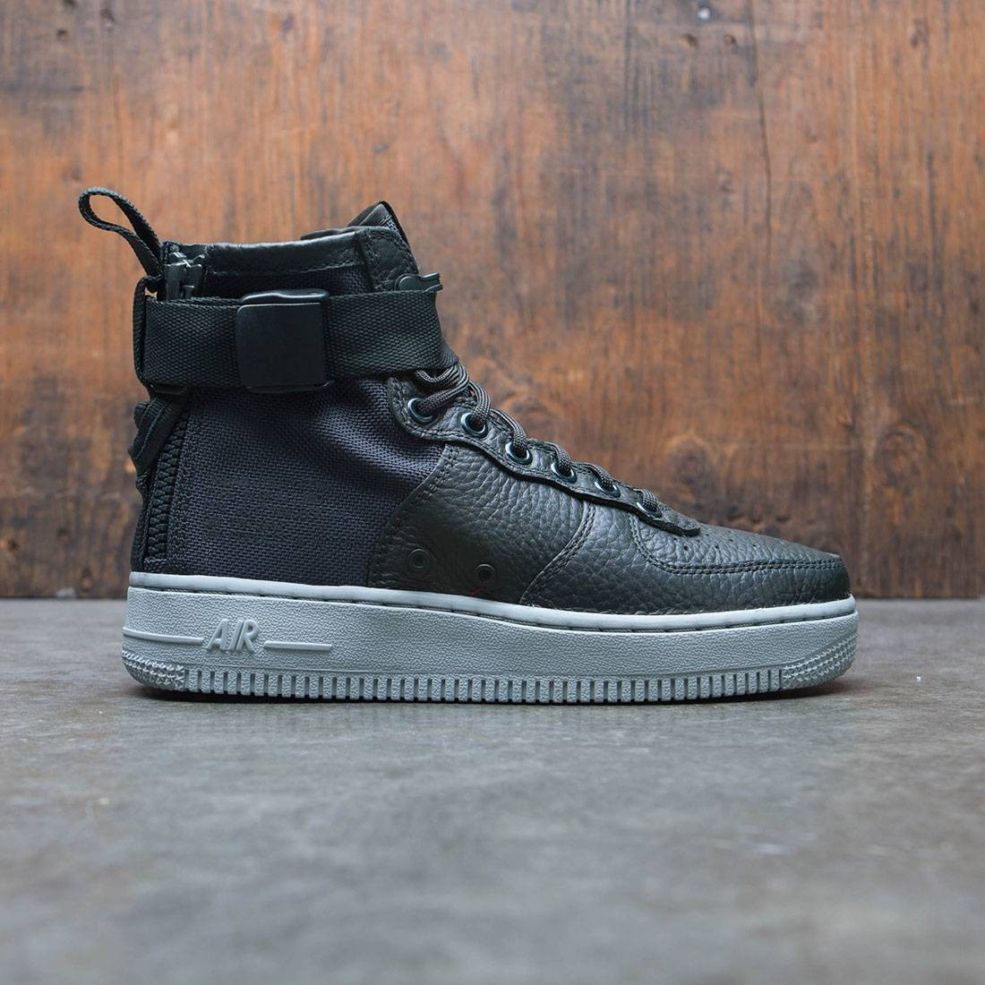 watch 36f69 a03fb nike women sf air force 1 mid olive outdoor green light pumice