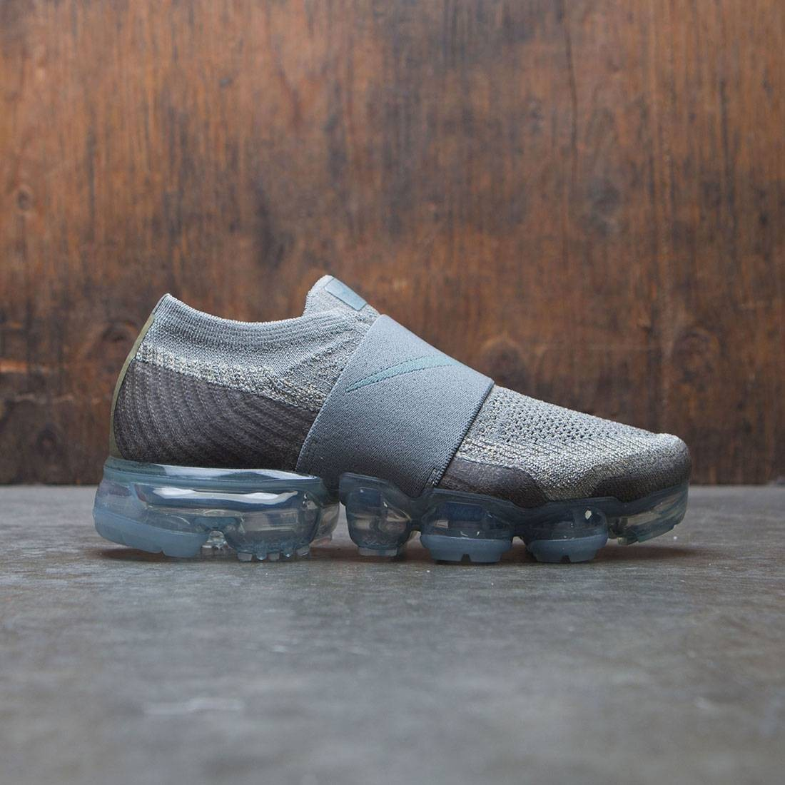 051058cf15 nike women air vapormax flyknit moc running dark stucco clay green neutral  olive