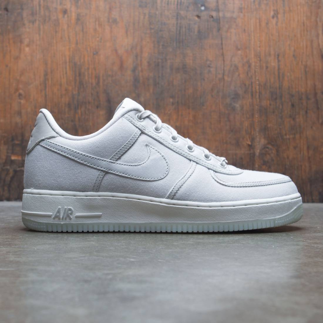 the best attitude e7c65 35592 nike men air force 1 low retro qs canvas light bone light bone sail