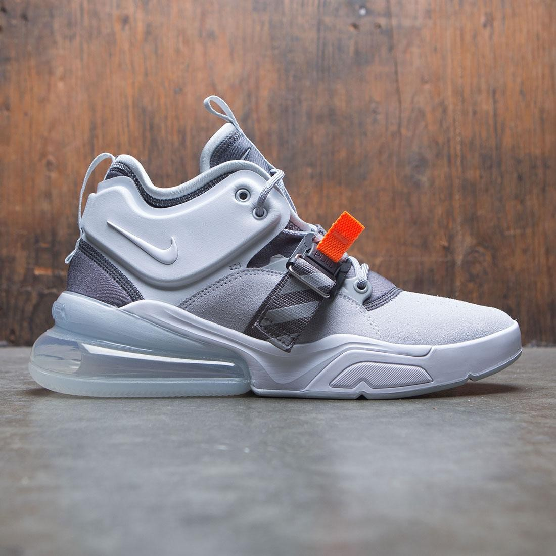 on sale 1f9e2 a4760 Nike Men Air Force 270 (grey / wolf grey / white-dark grey-sail)