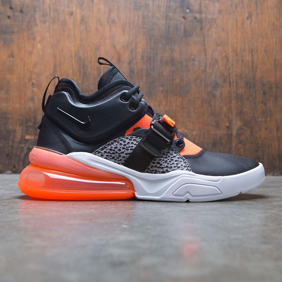 fece178ae405 Nike Men Air Force 270 (black   hyper crimson-wolf grey-white)