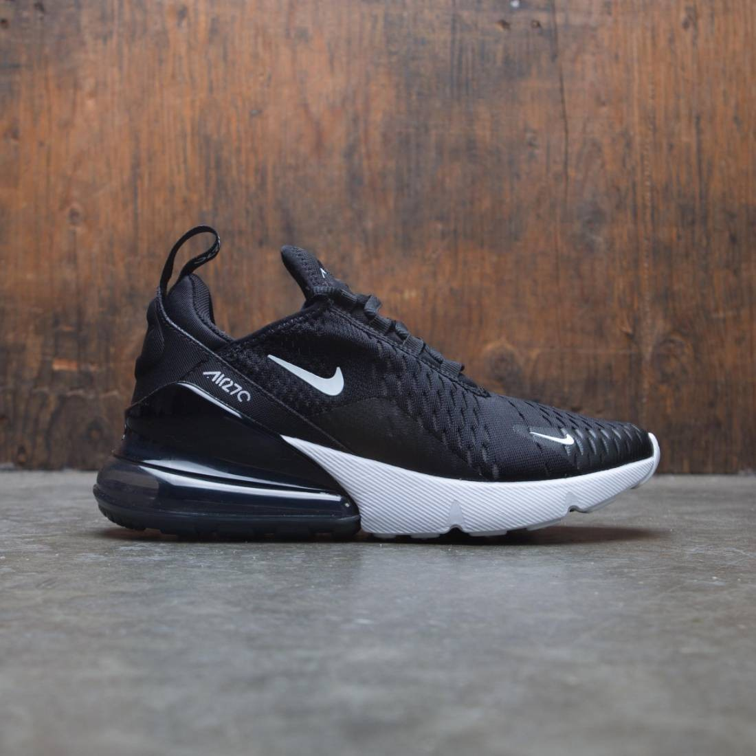 fresa Colectivo ducha  nike women air max 270 black anthracite white