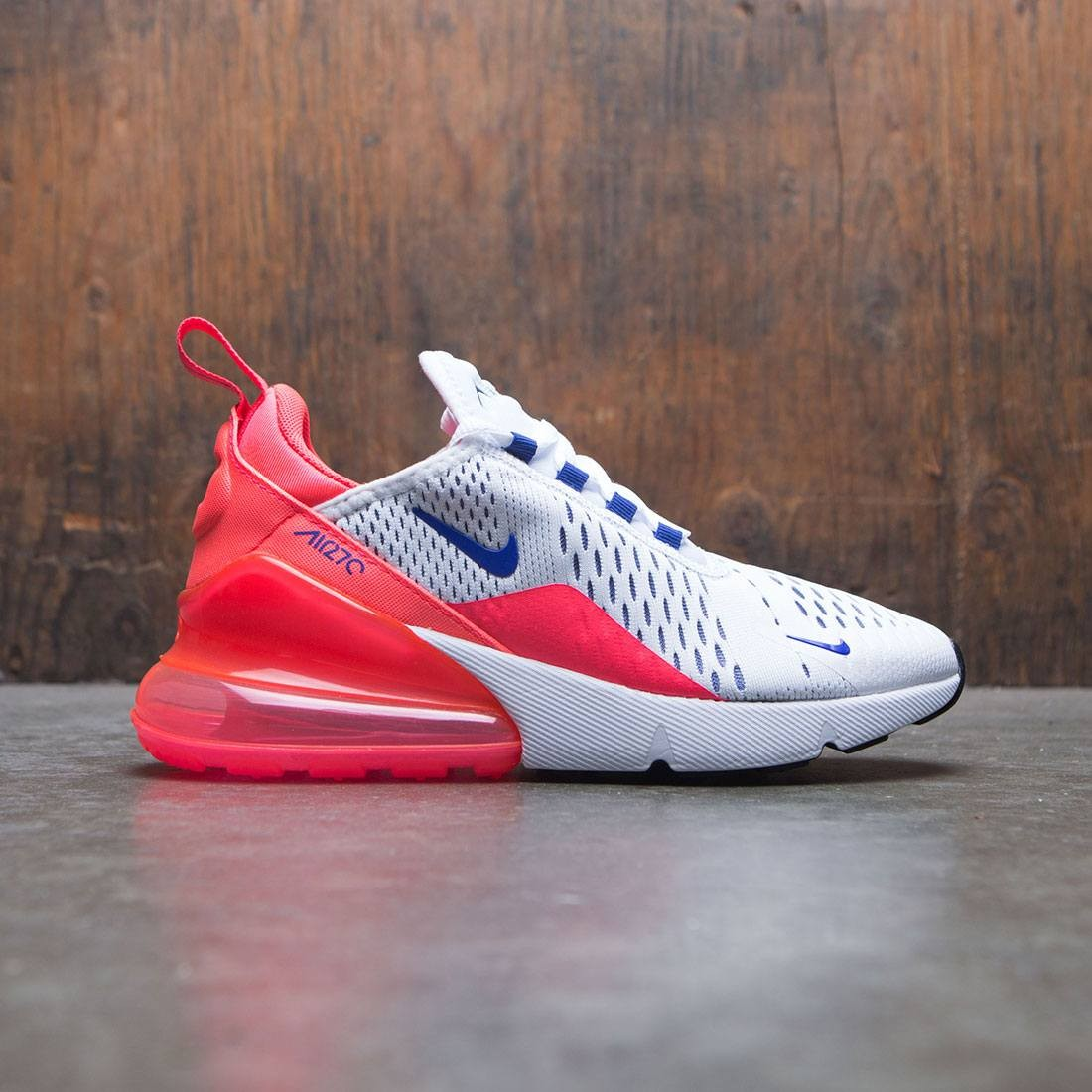 90af101b2f nike women air max 270 white ultramarine solar red black