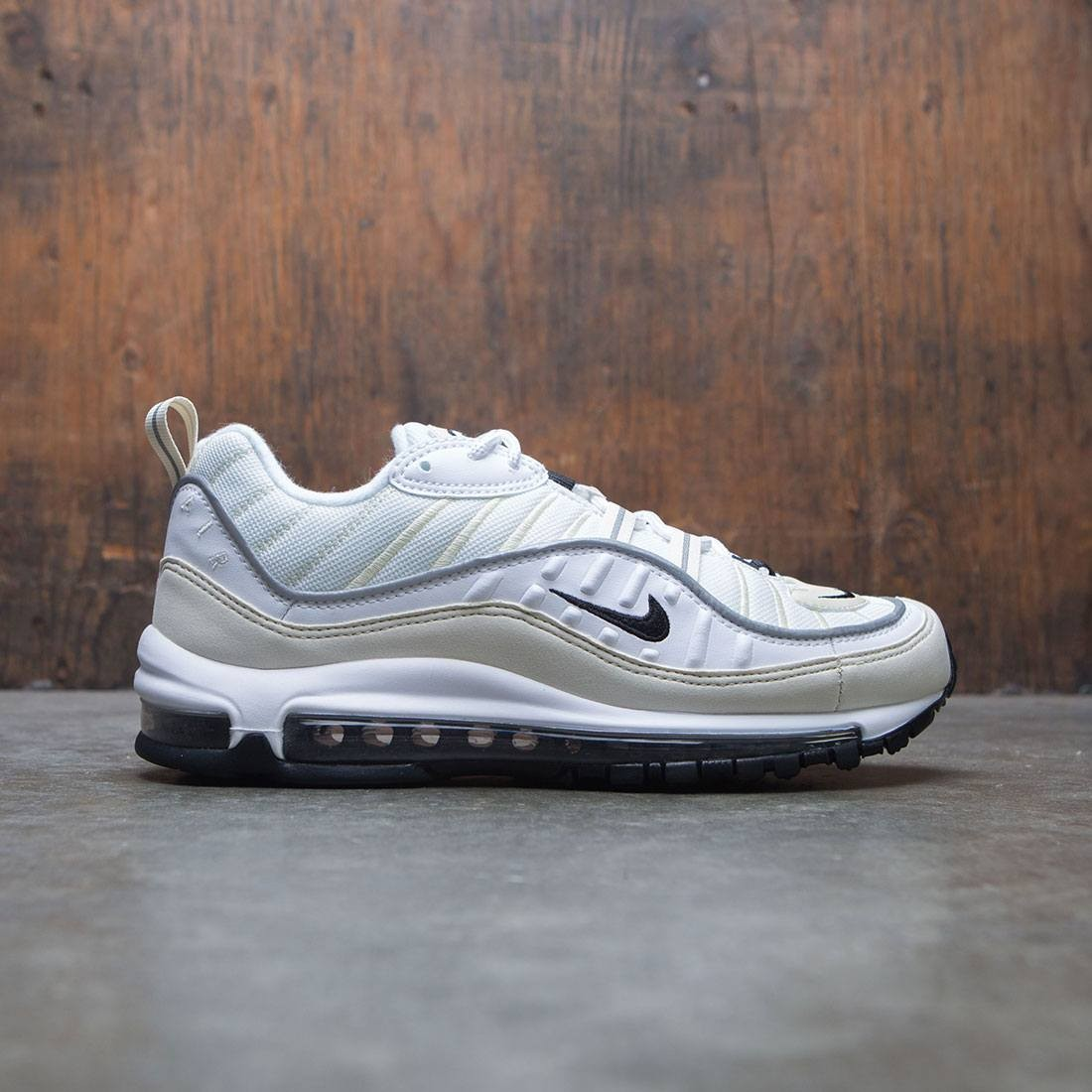 pretty nice fce3f fa7e7 Nike Women Air Max 98 (white / black-fossil-reflect silver)