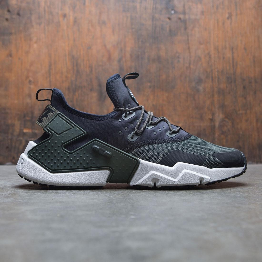 nike men air huarache drift sequoia light bone black white 7a5ca4b9df