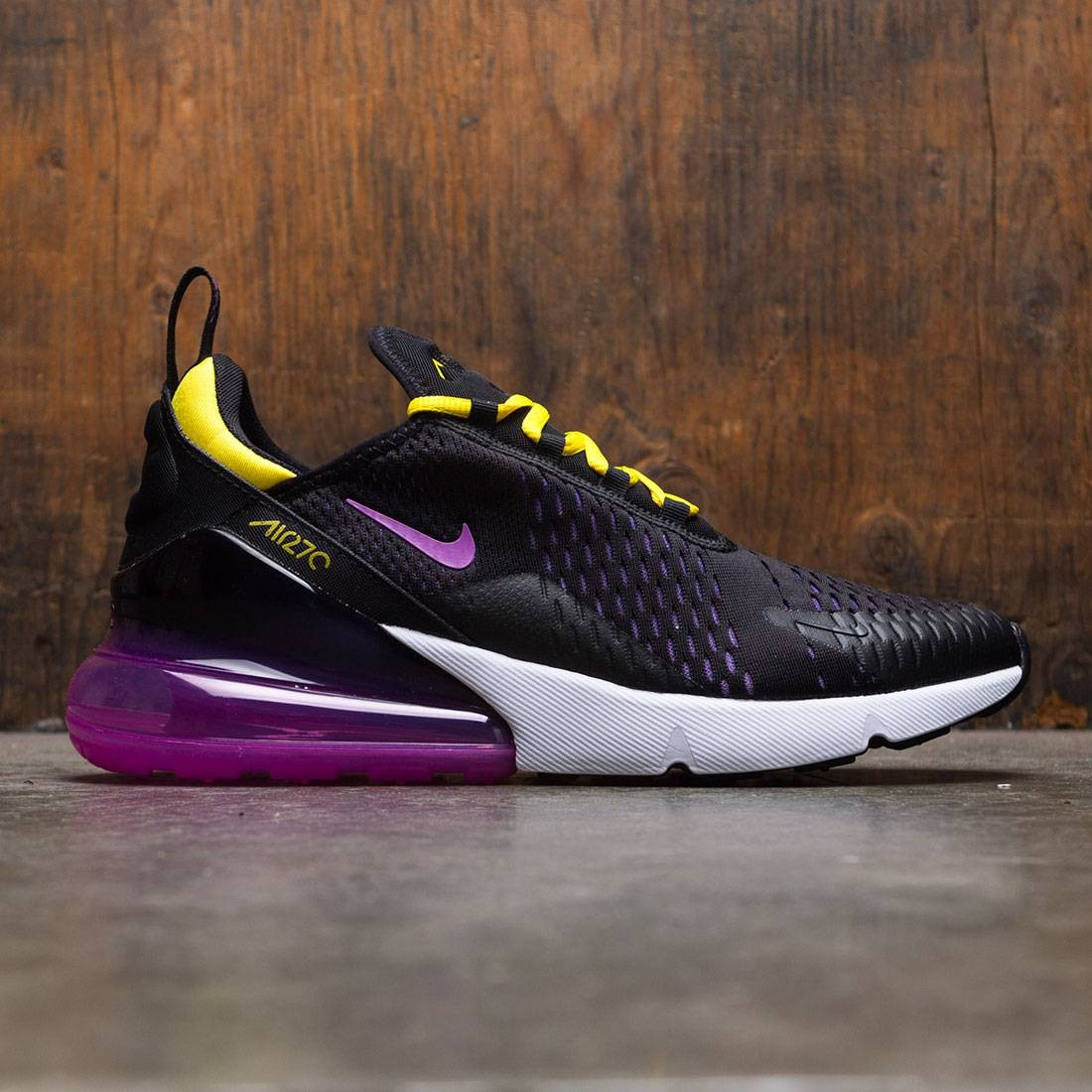 Nike Men Air Max 270 (black / hyper magenta-hyper grape)
