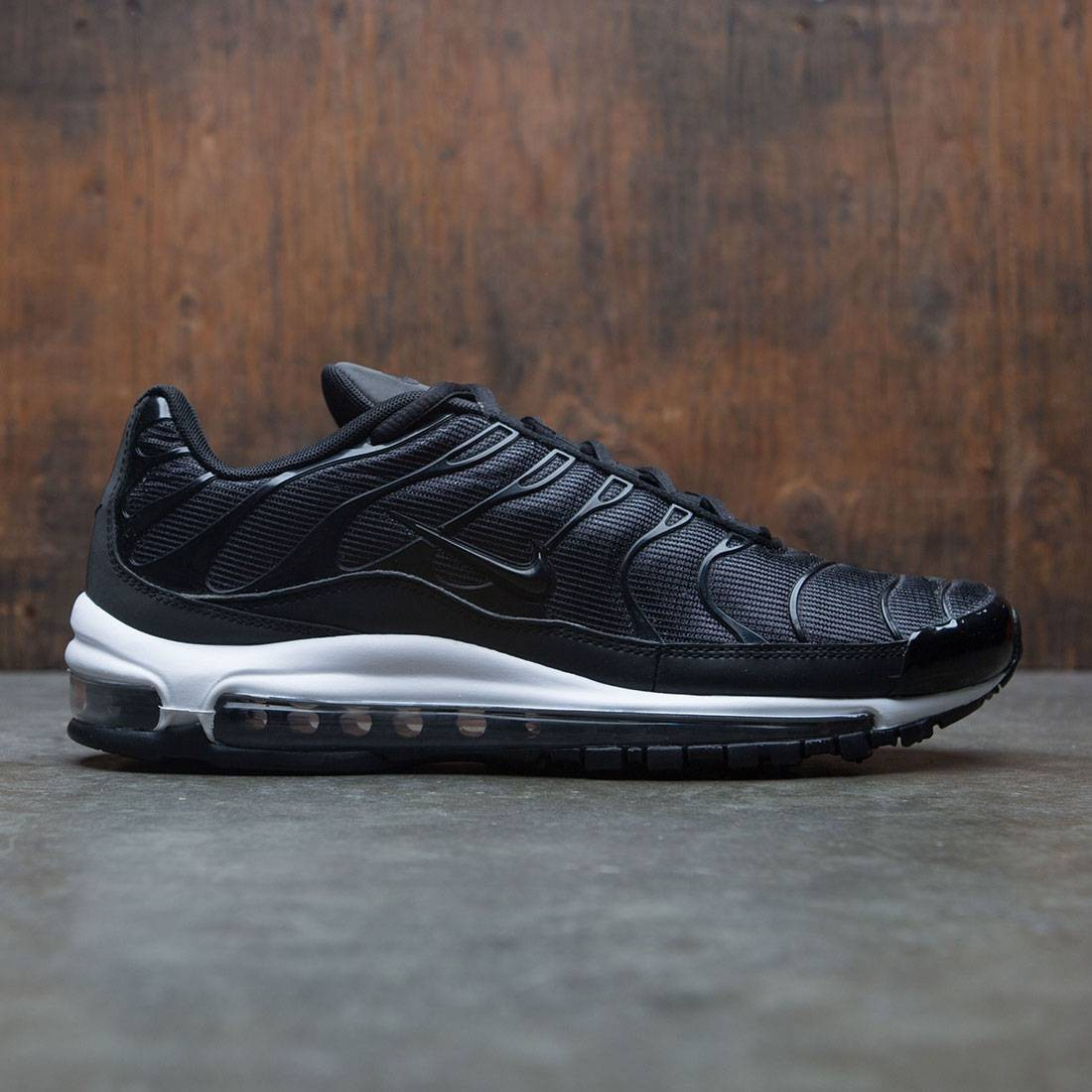 wholesale dealer f5046 aa500 Nike Men Air Max 97 / Plus Qs (black / anthracite-white)