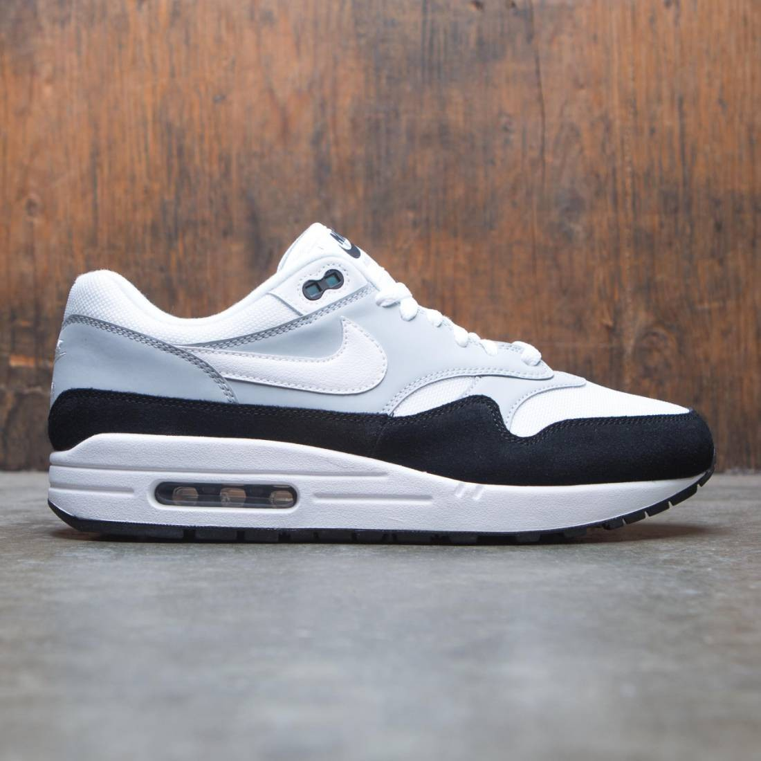18d838d45acc nike men air max 1 wolf grey white black