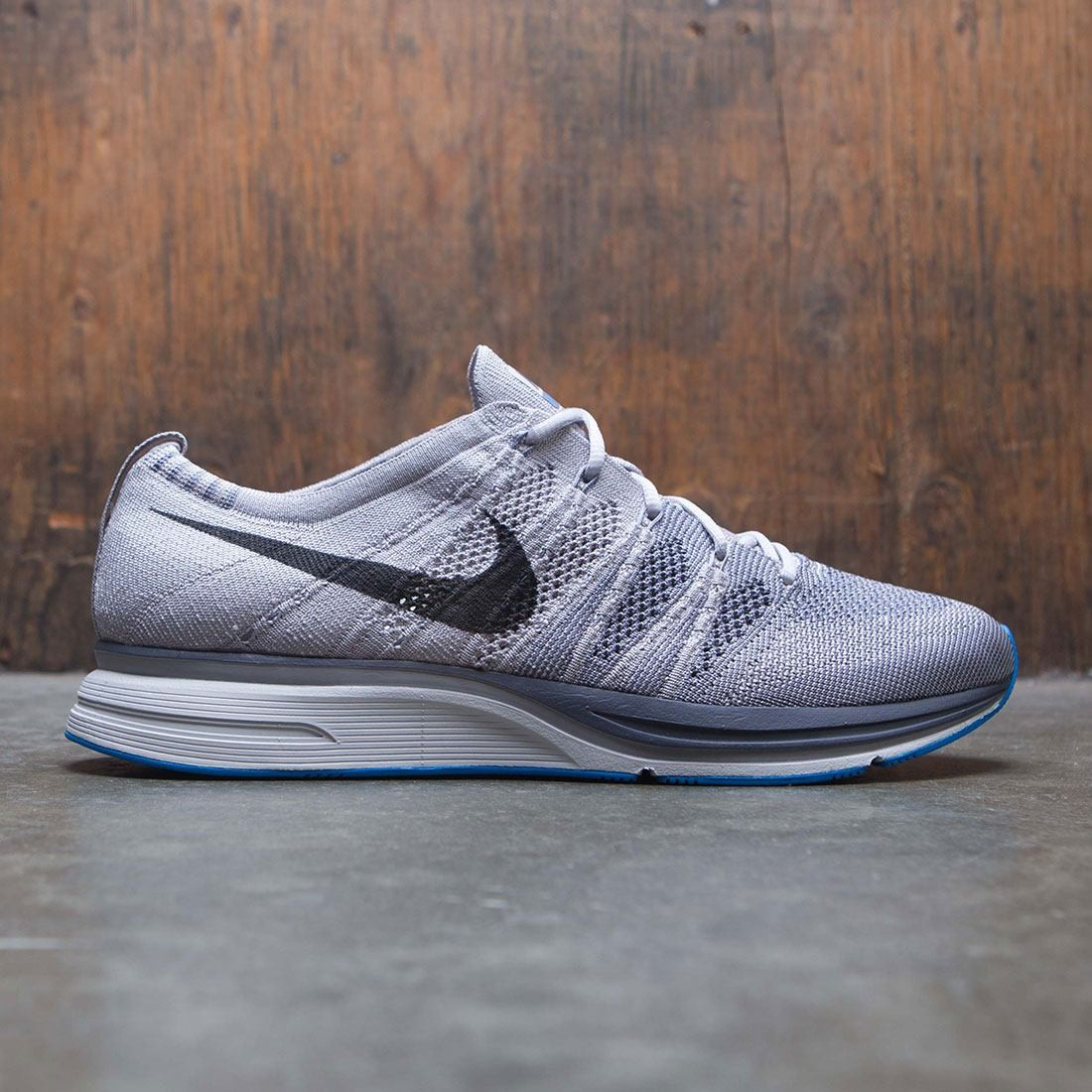 ee4098ff2204 nike men flyknit trainer grey atmosphere grey thunder grey vast grey