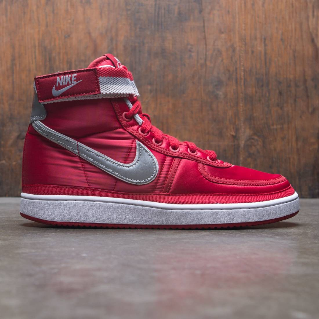Nike Men Vandal High Supreme (university red / metallic silver-white)