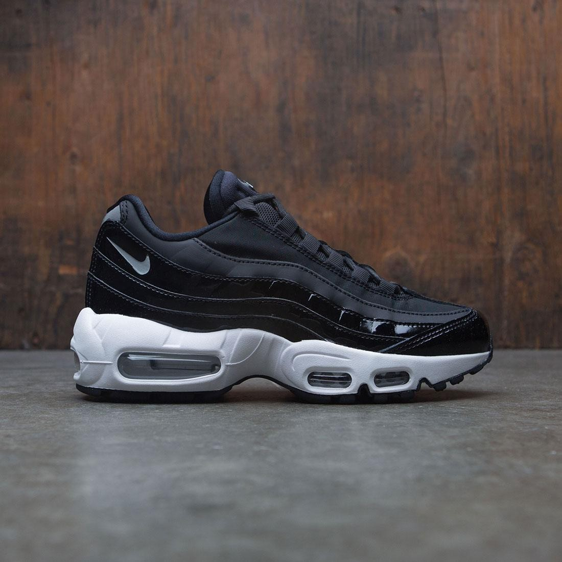 half off e72aa cc915 Nike Women Air Max 95 Special Edition Premium (black / reflect  silver-black-cool grey)