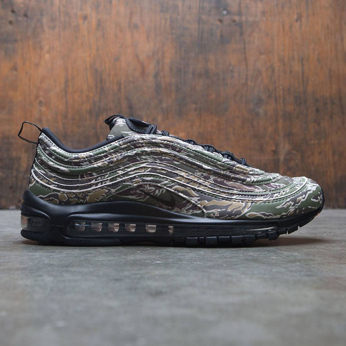 fluido impaciente piel  nike men air max 97 premium camo pack medium olive black desert sand  ridgerock