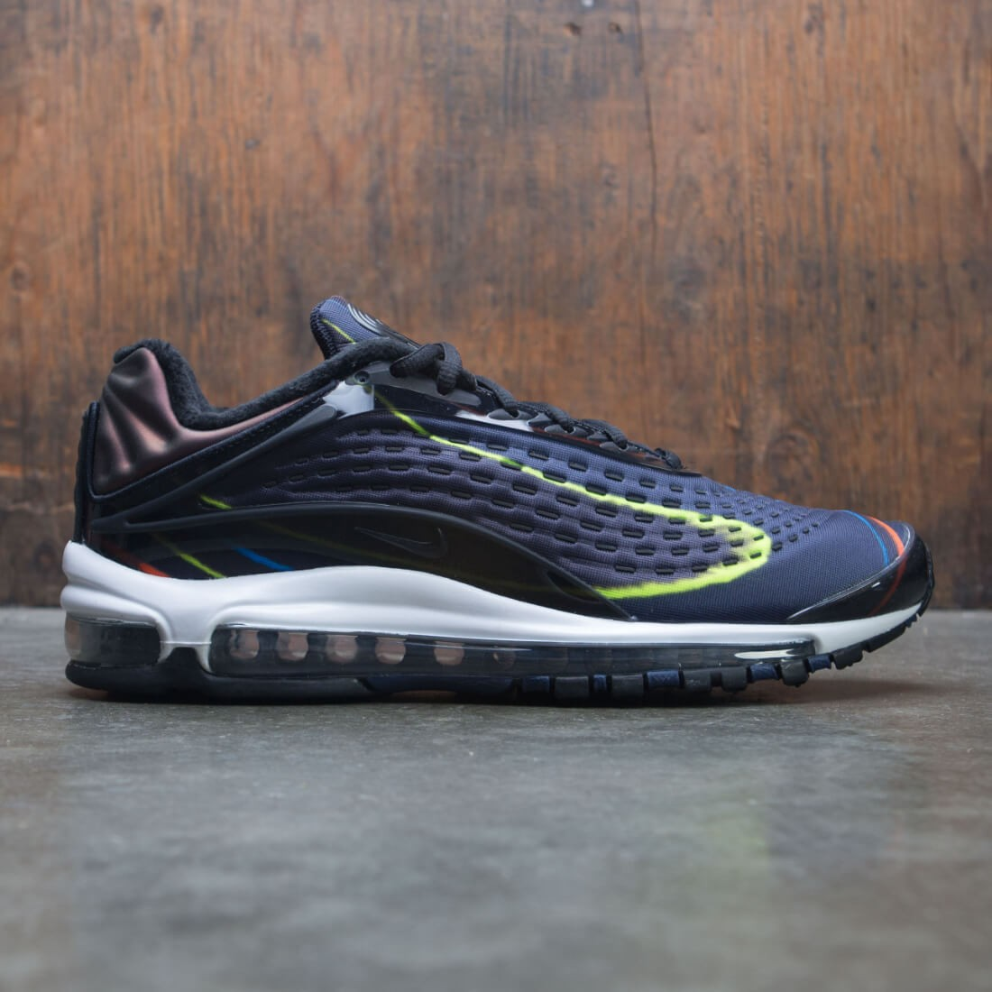 5ab05cee8997 nike men air max deluxe black black midnight navy reflect silver