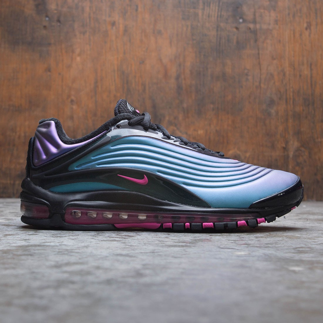 on sale 0146e df749 nike men air max deluxe black laser fuchsia