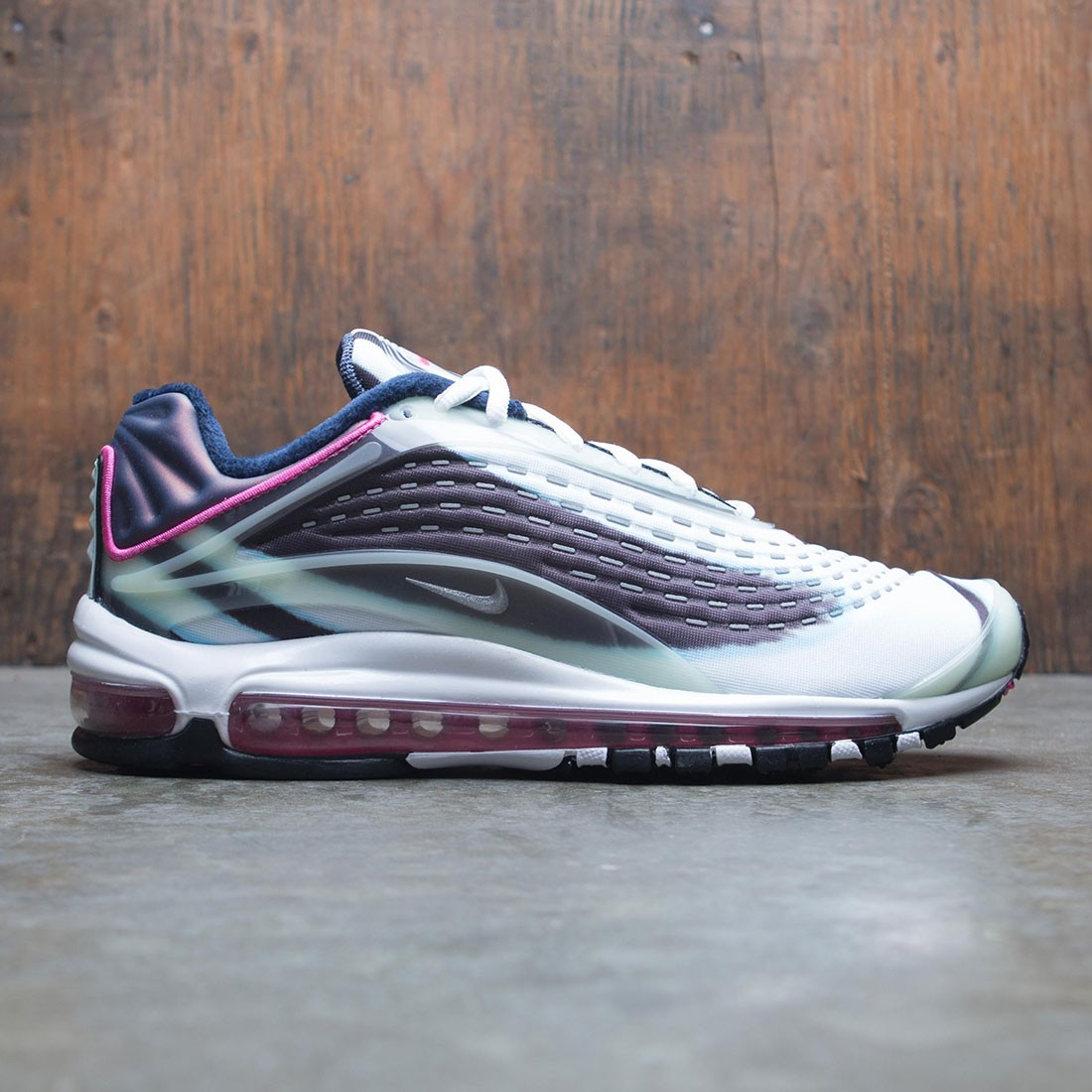 Nike Men Air Max Deluxe (enamel green metallic silver obsidian)