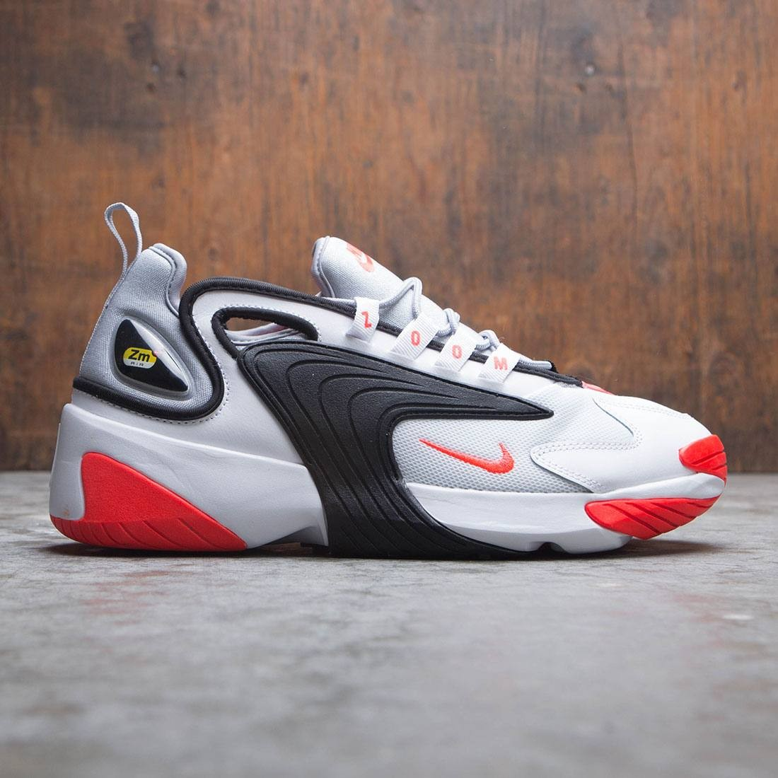 official photos 8ed51 2ce4c nike men zoom 2k white infrared 23 wolf grey black