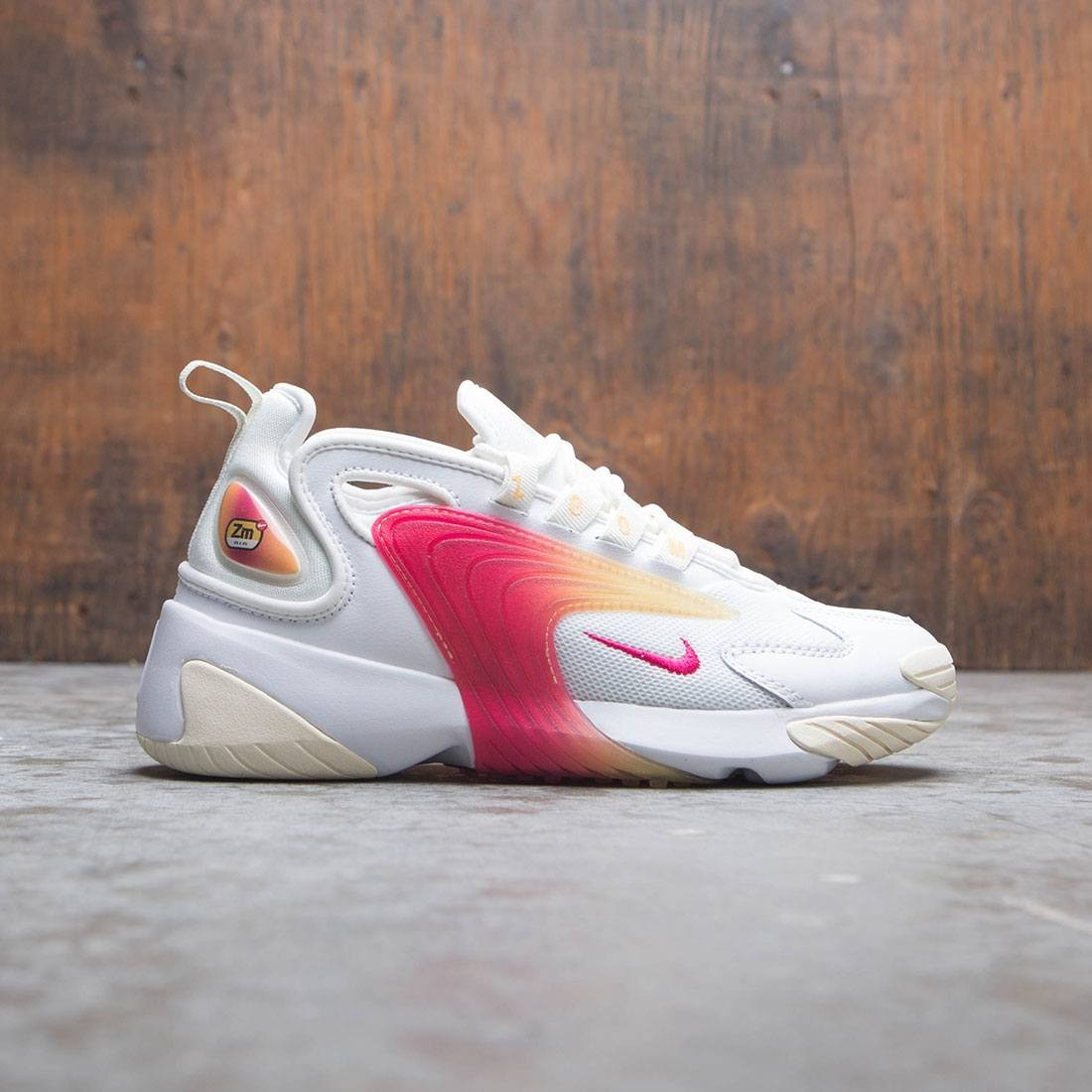Nike Women Zoom 2K (white / rush pink-sail-melon tint)