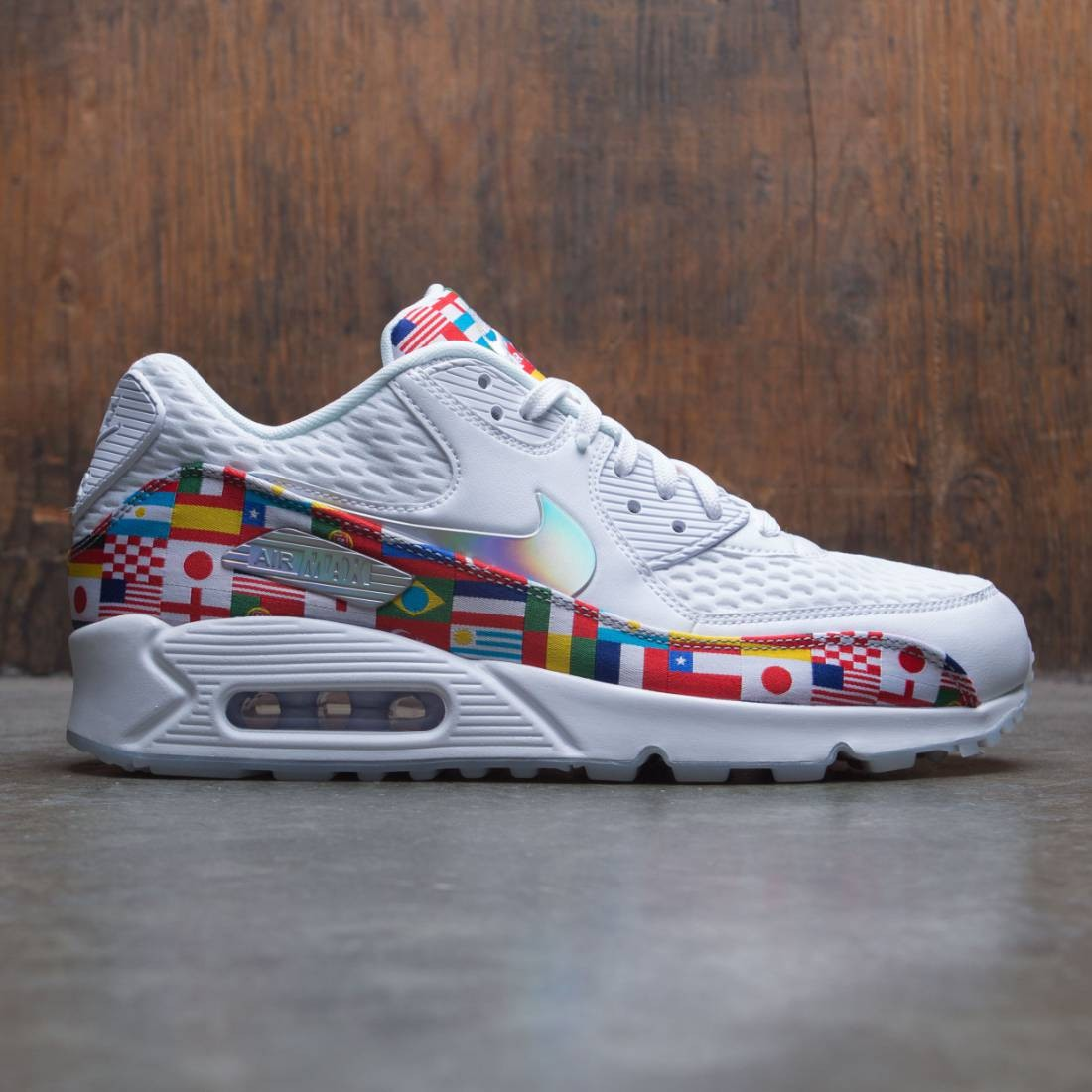 new style 10ed8 b12a9 Nike Men Air Max 90 Nic (white / multi-color)