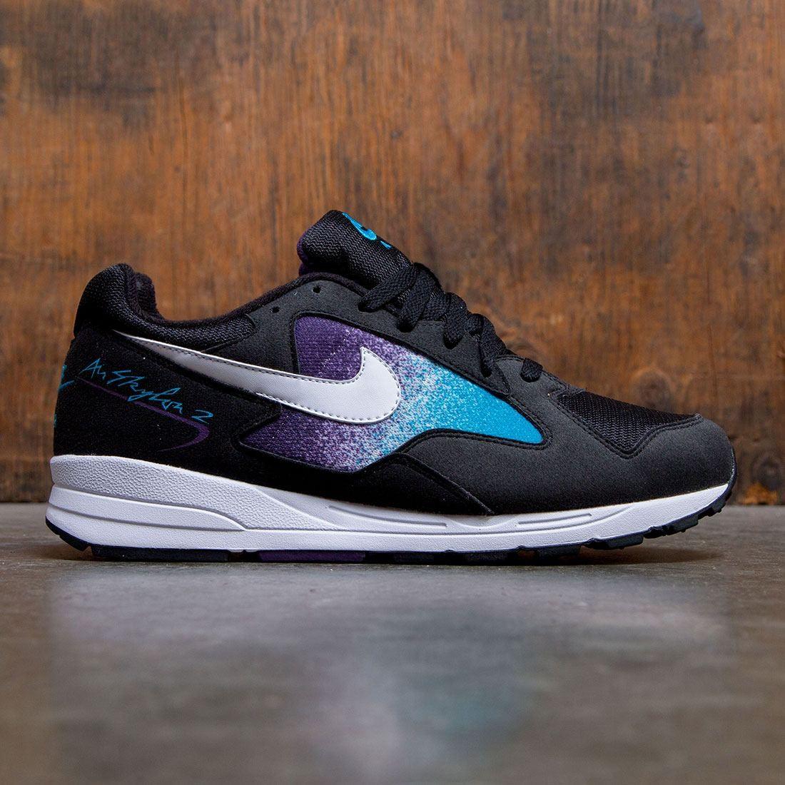 Nike Men Air Skylon Ii (black white blue lagoon grand purple)