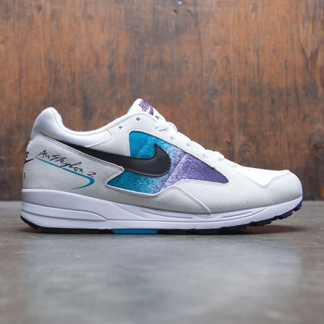 Nike Men Air Skylon Ii (white / black-blue lagoon-grand purple)