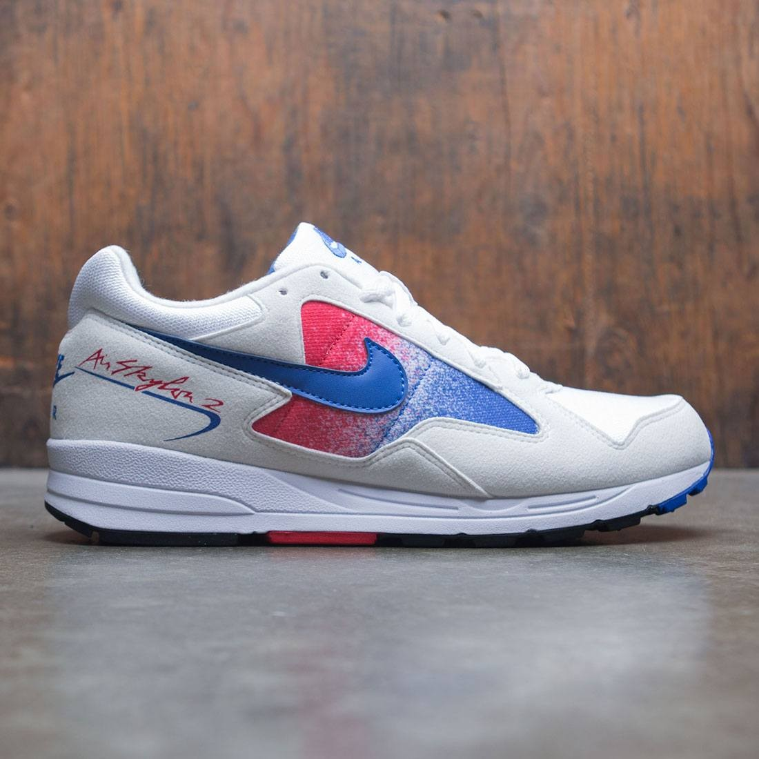 1b9766128a3e nike men air skylon ii white game royal university red black