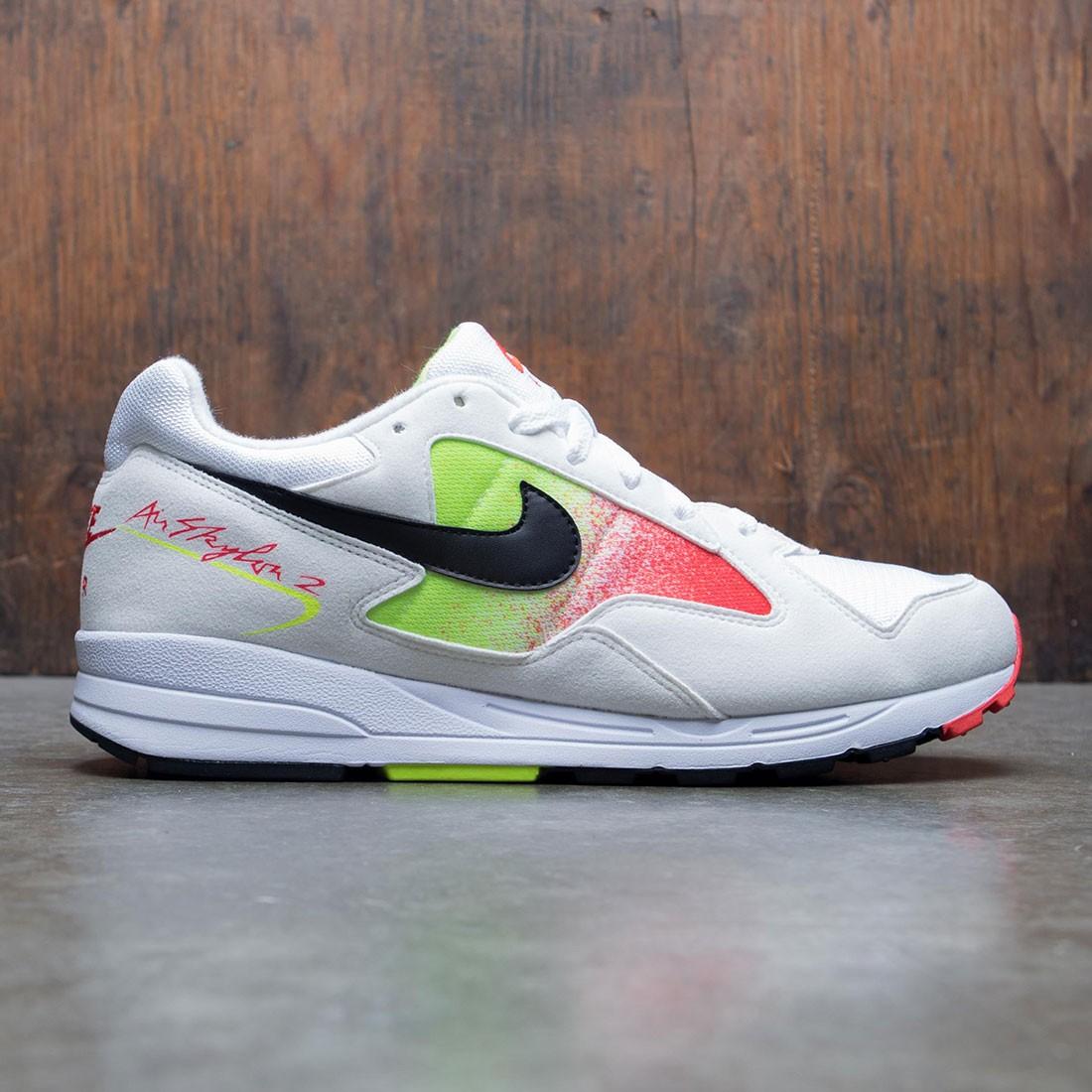 Nike Men Air Skylon Ii (white / black-volt-habanero red)