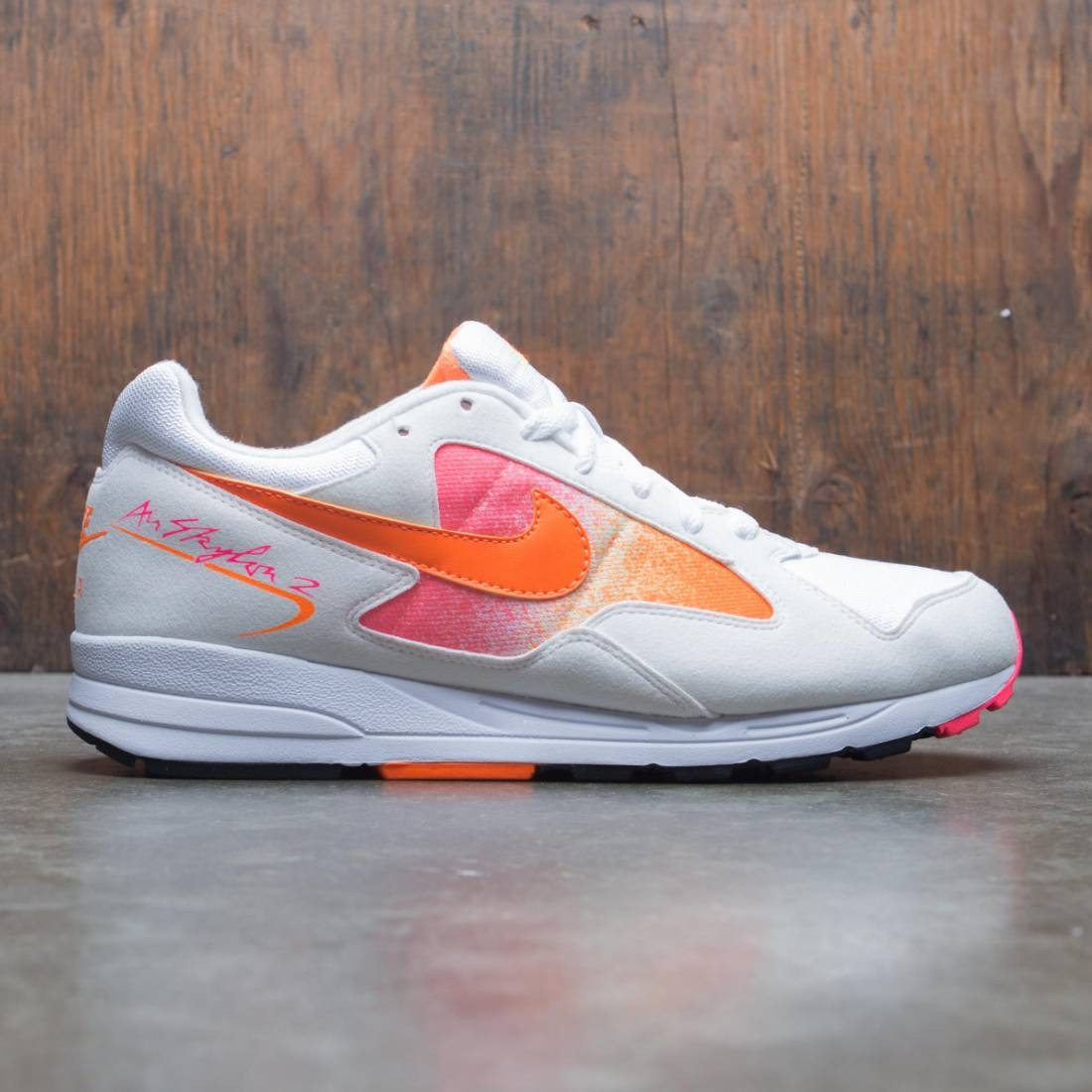 Nike Men Air Skylon Ii (white / total orange-racer pink-black)