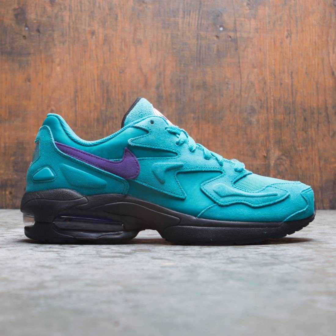 Nike Men Air Max2 Light (spirit teal / court purple-black-white)