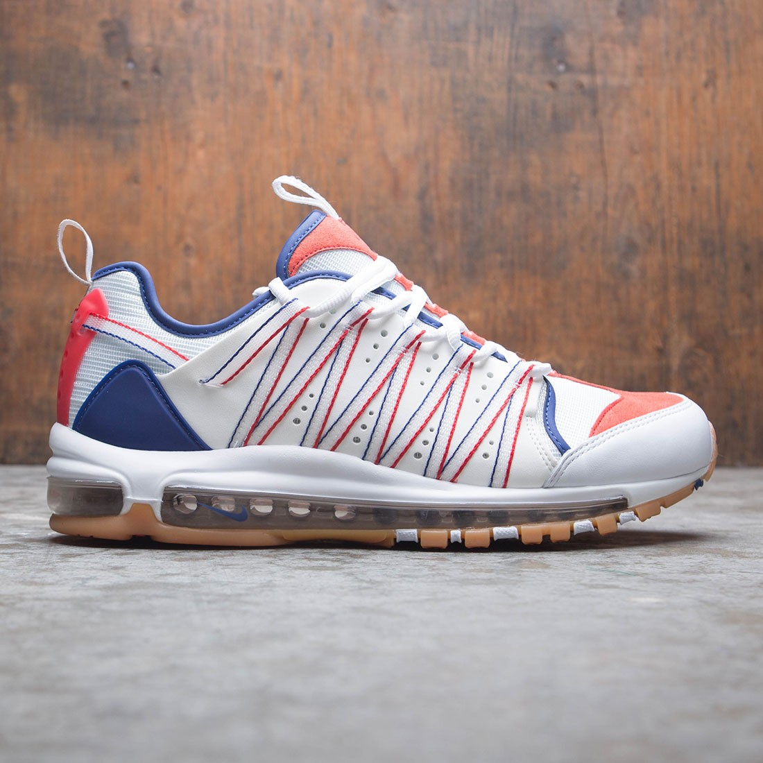 the best attitude 4790f 0a330 Nike x Clot Men Air Max 97 Haven (white   sail-deep royal blue)