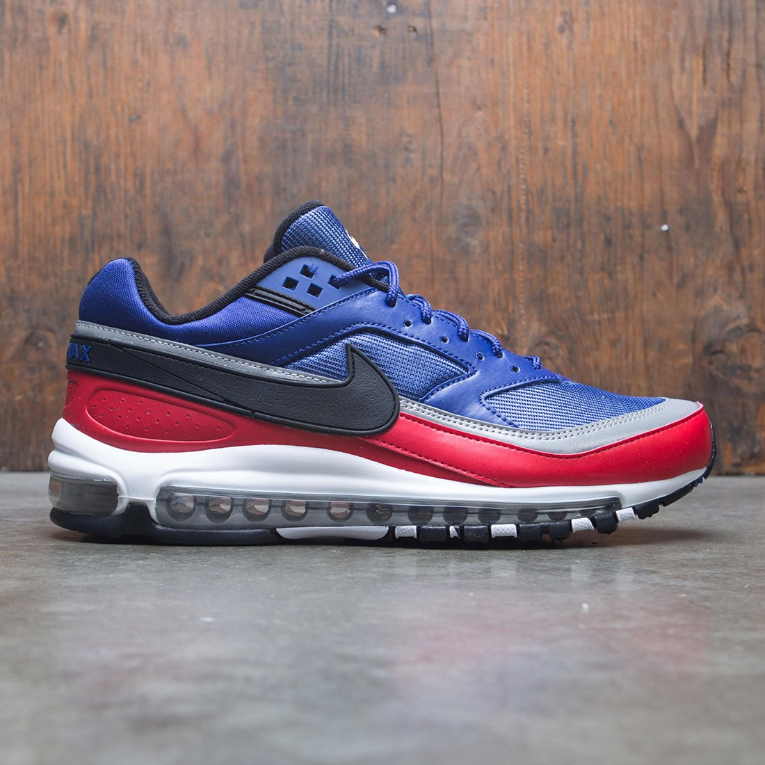 0eebbb84738ef nike men air max 97 bw deep royal blue black university red